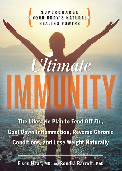 Ultimate Immunity - Supercharge Your Body's Natural Healing Powers - cover