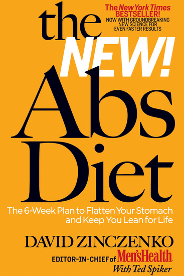 The New Abs Diet - The 6-Week Plan to Flatten Your Stomach and Keep You Lean for Life - cover