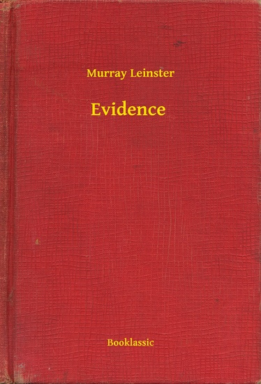 Evidence - cover