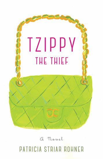 Tzippy the Thief - A Novel - cover