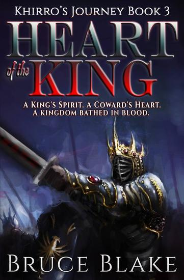 Heart of the King - Khirro's Journey #3 - cover