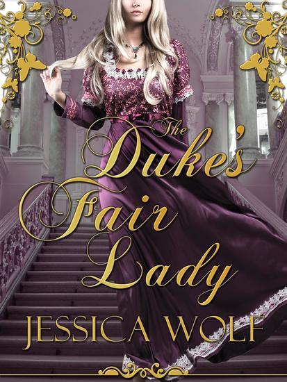 The Duke's Fair Lady - cover