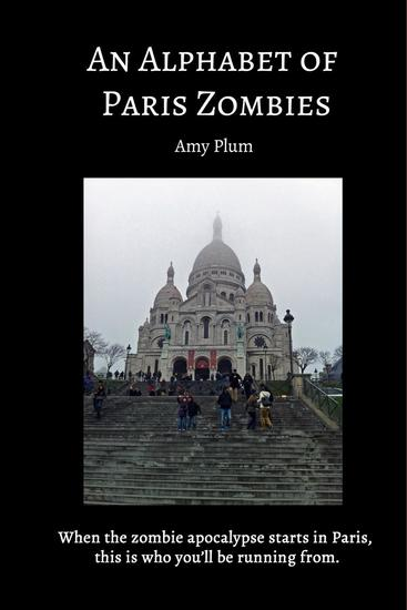 An Alphabet of Paris Zombies - cover