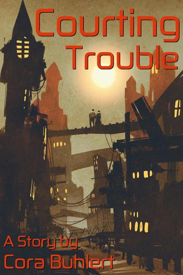 Courting Trouble - In Love and War #8 - cover