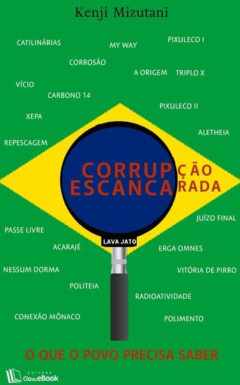 Corrupção escancarada - cover