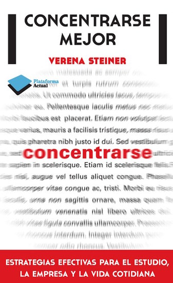 Concentrarse mejor - cover