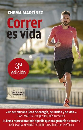 Correr es vida - cover