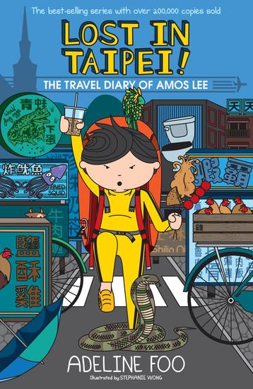 The Travel Diary of Amos Lee: Lost in Taipei! - cover