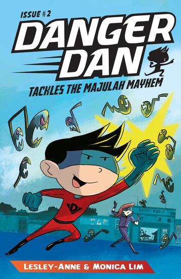 Danger Dan Tackles the Majulah Mayhem - cover