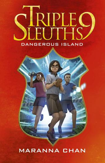 Triple Nine Sleuths: Dangerous Island - cover