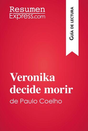 Veronika decide morir de Paulo Coelho - Resumen y análisis completo - cover