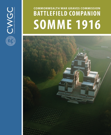 CWGC Battlefield Companion Somme 1916 - cover