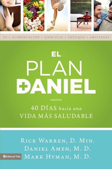 El plan Daniel - 40 días hacia una vida más saludable - cover