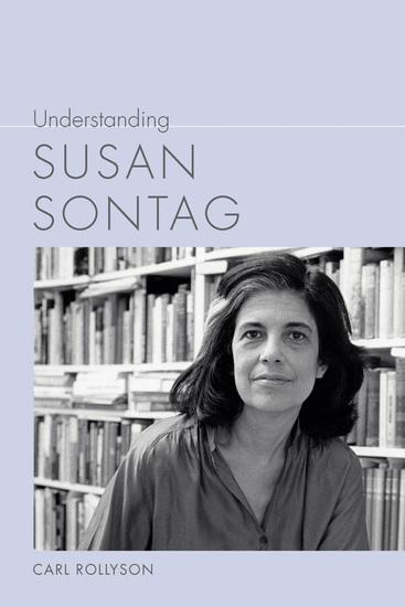 Understanding Susan Sontag - cover