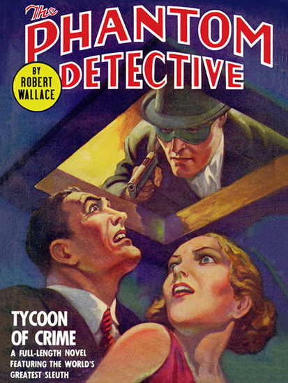 The Phantom Detective: Tycoon of Crime - Tycoon of Crime - cover