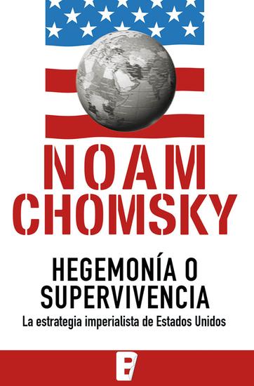 Hegemonía o supervivencia - cover