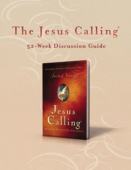 The Jesus Calling 52-Week Discussion Guide - cover