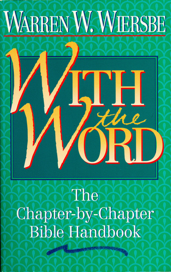With the Word - The Chapter-by-Chapter Bible Handbook - cover