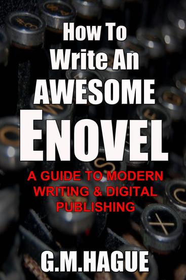 How To Write An Awesome Enovel - cover
