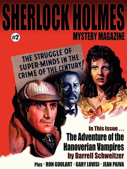 Sherlock Holmes Mystery Magazine #2 - cover