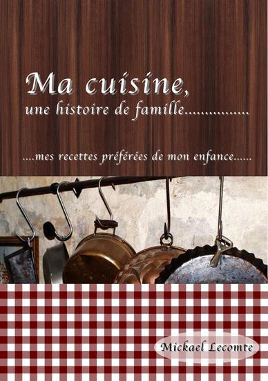 Ma cuisine une histoire de famille - cover
