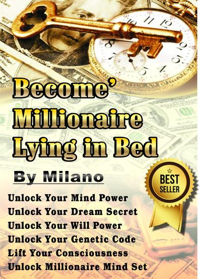 Become' Millionaire Lying in Bed - cover