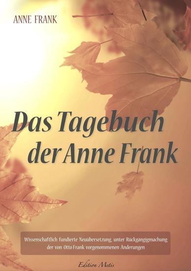 Das Tagebuch der Anne Frank - cover