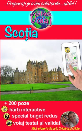 """Scoția - Un supliment """"vitaminizat"""" pentru ghidurile turistice clasice ; se poate consuma în exces! - cover"""
