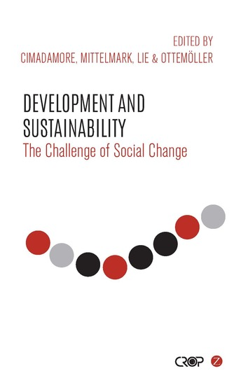 Development and Sustainability - The Challenge of Social Change - cover