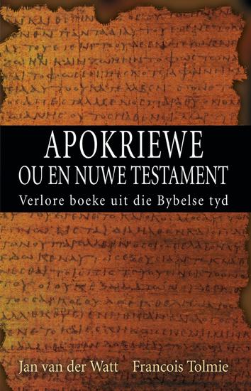 Apokriewe (eBoek) - Verlore boeke uit die Bybelse tyd - cover