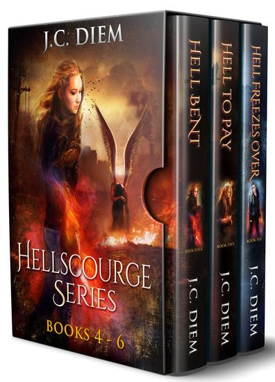 Hellscourge Series: Bundle 2: Books 4 - 6 - cover