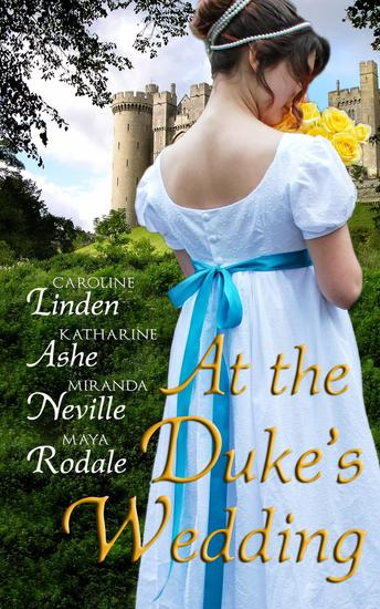 At the Duke's Wedding (A romance anthology) - cover