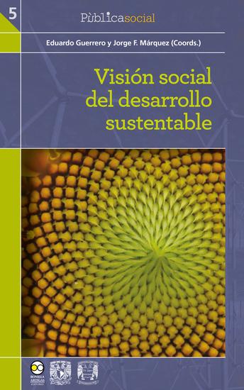 Visión social del desarrollo sustentable - cover