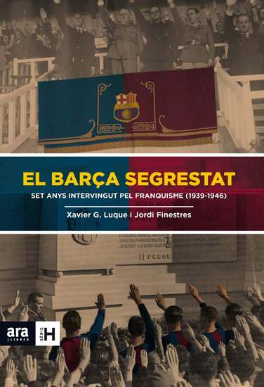 El Barça segrestat - cover