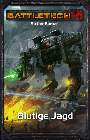 BattleTech 33: Blutige Jagd - cover