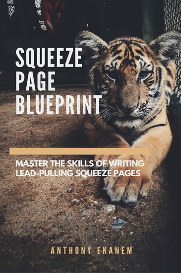 Squeeze Page Blueprint - Masster the Skills of Writing Lead-Pulling Squeeze Pages - cover