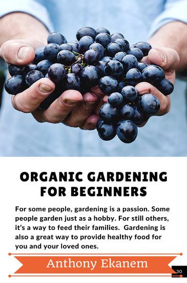 Organic Gardening For Beginners - cover