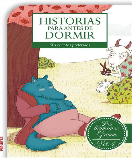 Historias para antes de dormir Vol 4 Hermanos Grimm - cover