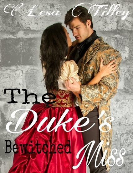 The Duke's Bewitched Miss - cover