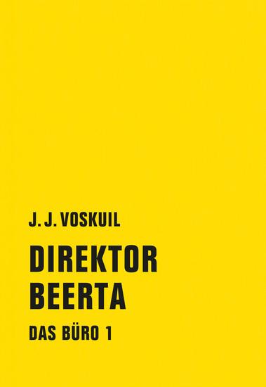 Direktor Beerta - Das Büro 1 - cover