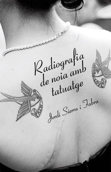 Radiografia de noia amb tatuatge - cover
