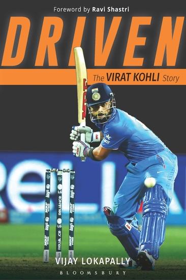 Driven - The Virat Kohli Story - cover