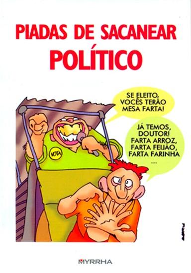Piadas de sacanear político - cover