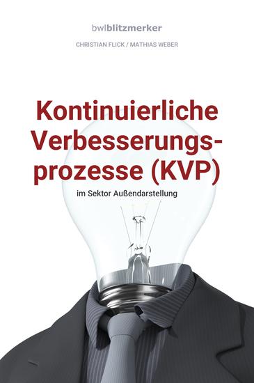 bwlBlitzmerker: Kontinuierliche Verbesserungsprozesse (KVP) im Sektor Außendarstellung - cover