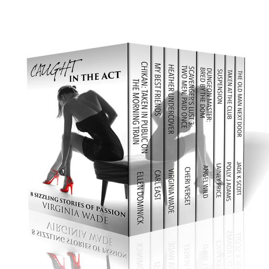 Caught in the Act - Eight Sizzling Stories of Passion - cover