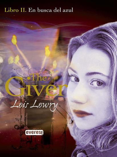 En busca del azul Libro II The Giver - cover