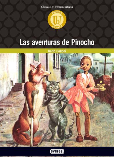Las aventuras de Pinocho - cover