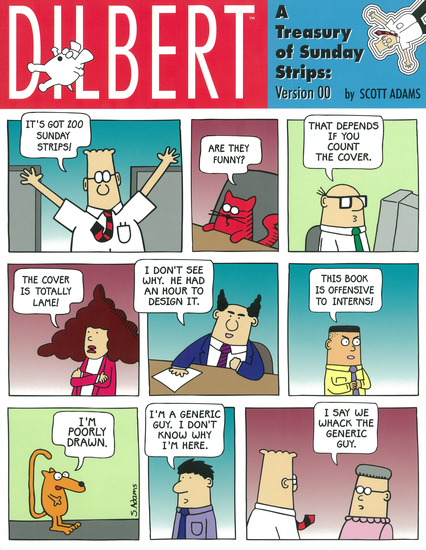 Dilbert - A Treasury Of Sunday Strips: Version 00 - A Dilbert Book - cover
