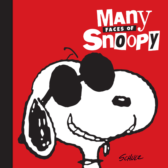 Many Faces of Snoopy - cover