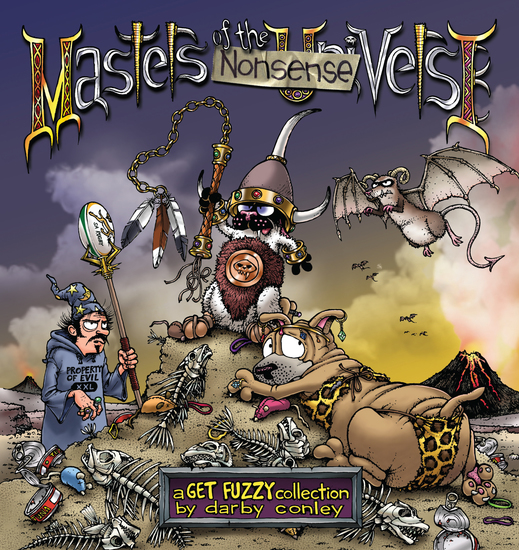 Masters of the Nonsenseverse - A Get Fuzzy Collection - cover